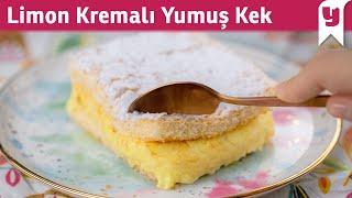 Limon Kremalı Yumuş Kek Tarifi - Tatlı Tarifleri