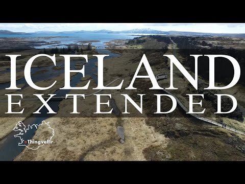 Iceland by drone - Extended version