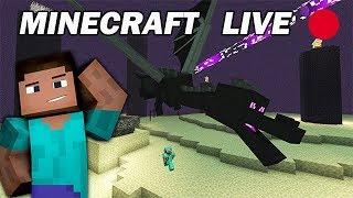 Minecraft Survie : Préparation pour l'ENDER DRAGON ! [Replay Live]