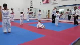 Karate Toddler
