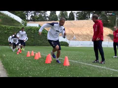 Equipe de France : exercices de vivacité