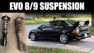 EVO Coilover Suspension Install Tips - CT9A EVO 7/8/9