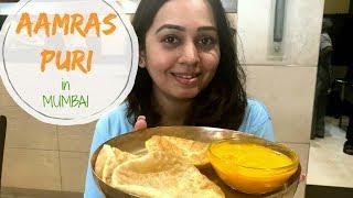 Mumbai Food Tour | Aamras Puri | Veg Food