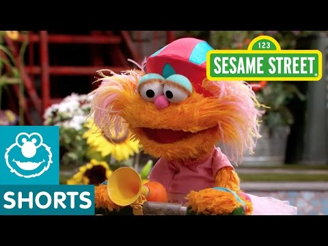 Sesame Street: Elmo Helps Zoe Ride a Scooter
