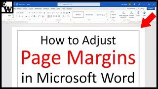 How to Adjust Pąge Margins in Microsoft Word