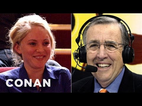 Brent Musburger Checks Out Conan's Audience - CONAN on TBS ...