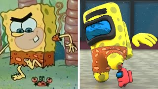 SpongeBob VS Among Us