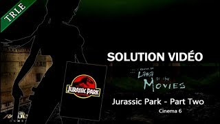 [TRLE] Lara At The Movies (2004) - #24 - Cinema 6 : Jurassic Park (2/2)