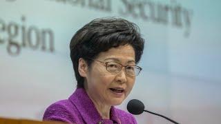 Hong Kong's Lam Defends New Security Powers