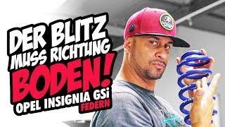 JP Performance - Der Blitz muss Richtung Boden! | Opel Insignia GSi Federn