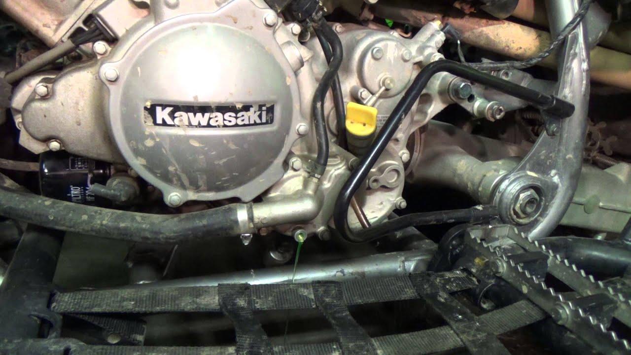 medium resolution of kawasaki kfx 700 draining some coolant youtube kawasaki brute force 750 kawasaki kfx 700 fuse box location