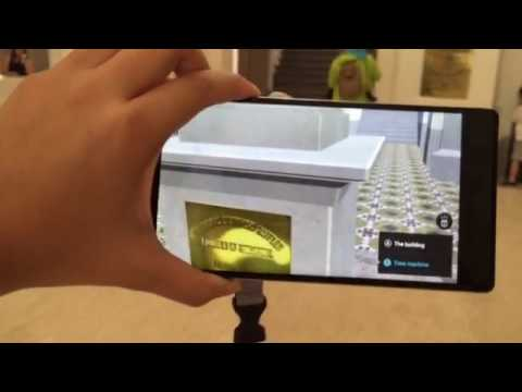 Augmented reality-enhanced tour of the National Museum