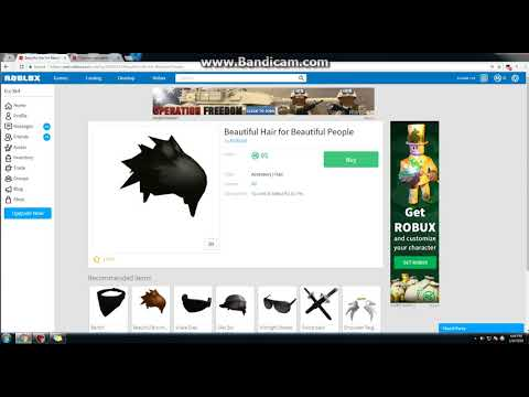 How to Get The Beautiful Hair in Roblox