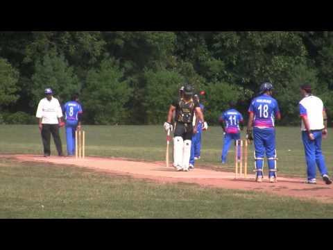 2015 CLNJ Final: Stars Cricket Club Batting against Gymkhana