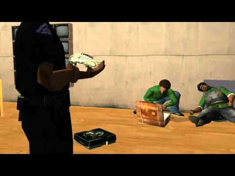 GTA San Andreas Mission #98 (ENDING) - End Of The Line