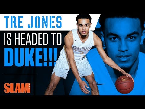 Tre Jones: The PG of the Best Recruiting Class EVER | SLAM Day in the Life