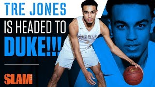 Tre Jones: The PG of the Best Recruiting Class EVER 🔵😈