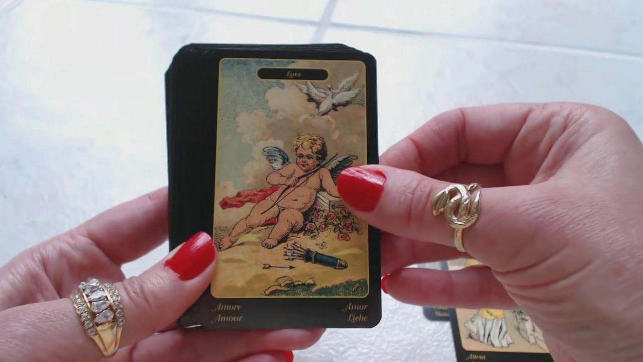 Traceyhd's Review Of The Gypsy Oracle Cards Sibilla Della Zingara & Gypsy  Oracle Card Handbook