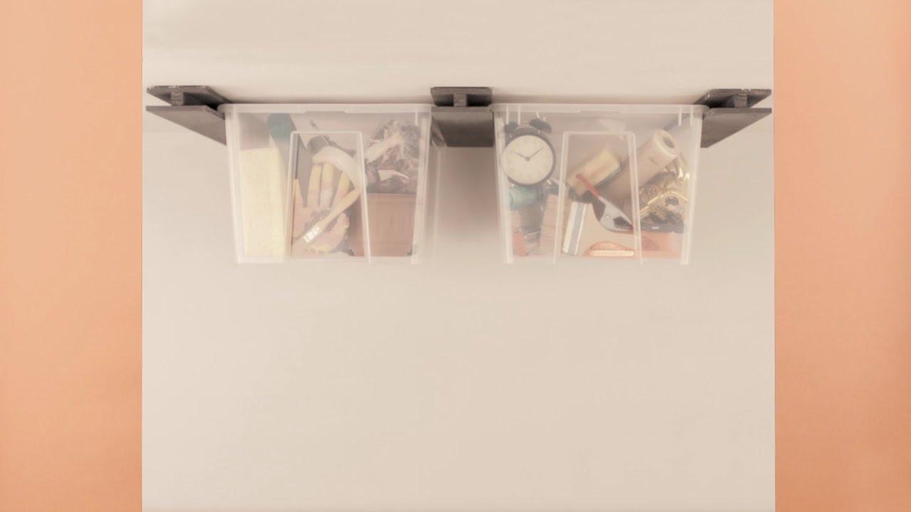diy hack ordnungssystem f r keller und garage youtube. Black Bedroom Furniture Sets. Home Design Ideas