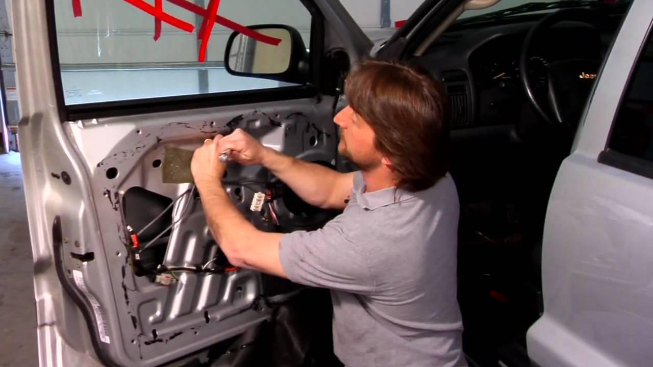 Auto Repair & Maintenance : Installing a Manual Window Regulator  YouTube