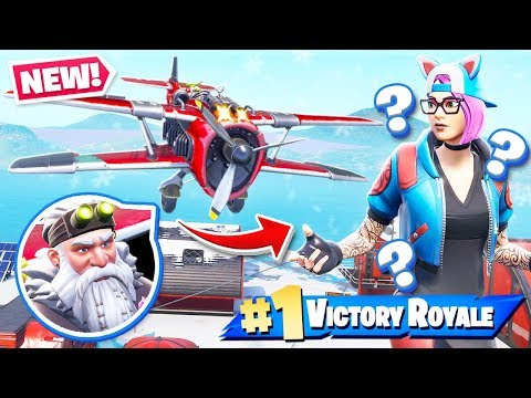 Planes VEHICLE Update *NEW* Season 7 Gameplay in Fortnite Battle Royale