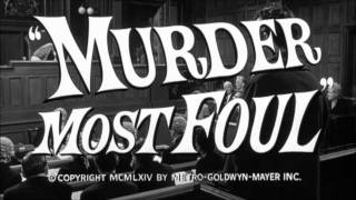 Murder Most Foul (1964) - Trailer