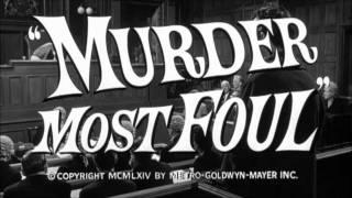 Murder Most Foul (1964) - Trailer