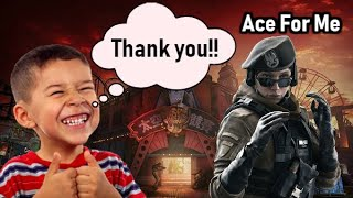 Kid Congratulated Me For Getting An Ace (Funny) - Rainbow Six Siege