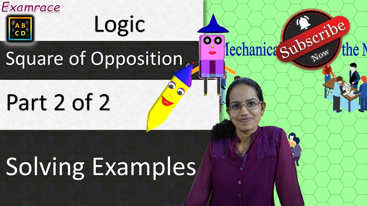 Clearly Understand Square of Opposition (Part 2 of 2) - Solving ...