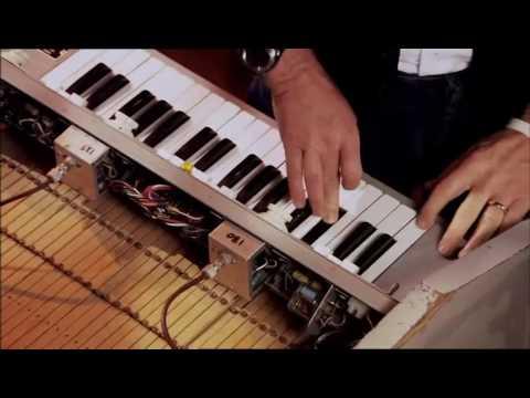 Paul McCartney demonstrates the Mellotron