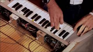Paul McCartney  demonstrates the Mellotron