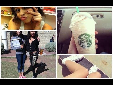 Vlogs: Driving, Ghetto Starbucks & Work