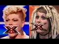 Top List Got Talent 2017 -  5 WORST & MOST RUDE CONTESTANTS... Uhhgggrrr SOO BAD!