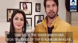 In Graphics: TRP RACE: Kumkum Bhagya and YHM are the top shows this week!