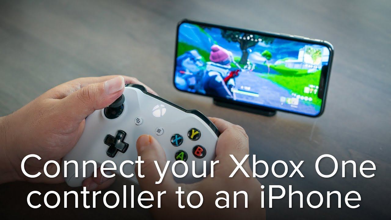 How To Pair An Xbox One Controller With An Iphone Or Ipad Youtube