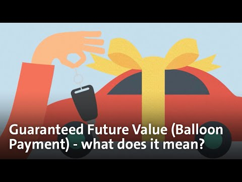 Car Finance Made Simple - Guaranteed Future Value