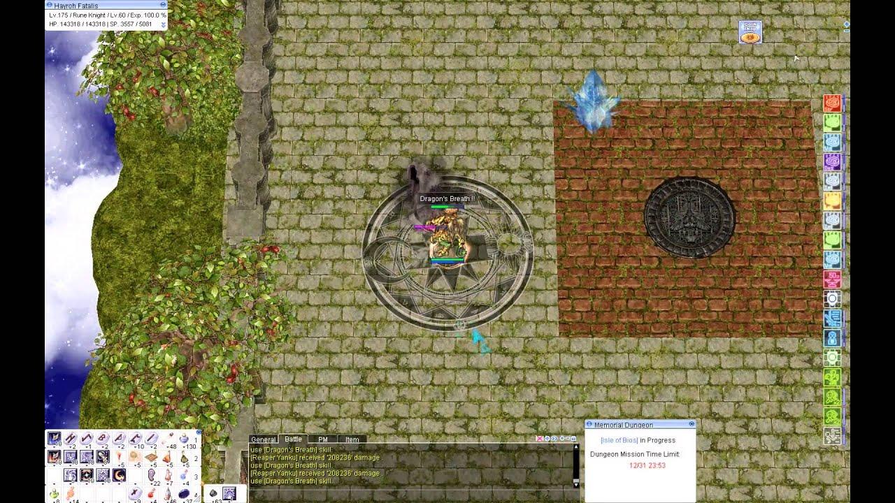 Hayroh's LK~Rune Knight [ft  Dragon Breath] Builds/Guide - iRO (jRO