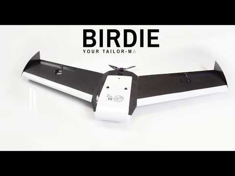 Meet the new UAV BIRDIE - surveying drone for professionals