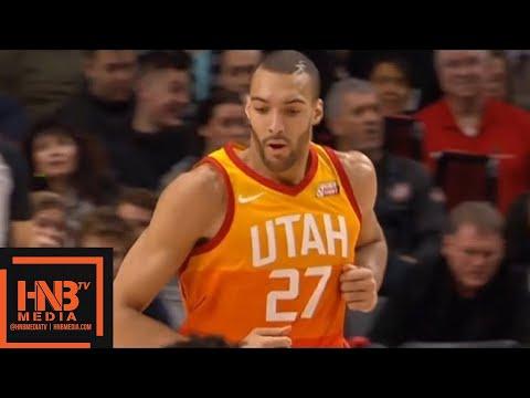 Utah Jazz vs Portland Trail Blazers 1st Half Highlights / Feb 11 / 2017-18 NBA Season