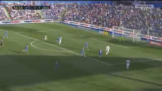 Ronaldo goal vs getafe HD English commentary