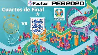 eFootball PES 2020: UEFA Euro 2020 - Alemania vs Inglaterra (1er tiempo) - Liga Máster