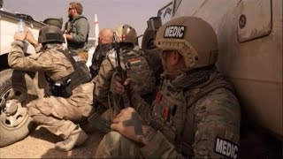 US civilian medics help peshmerga fighters in Iraq