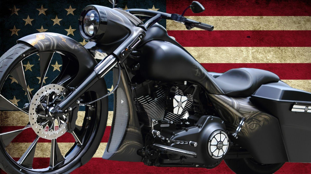 Harley Davidson Road King Bagger By The Bike Exchange