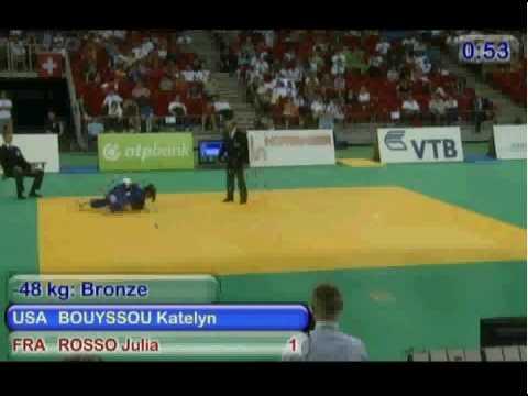 Rosso vs Bouyssou (USA) Chpt du Monde Cadet
