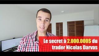 Le secret à 2.000.000$ du trader Nicolas Darvas (ou comment devenir riche et millionnaire en bourse)