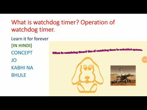 Watchdog Timer operation & concept in embedded system