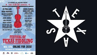 6th Annual Festival of Texas Fiddling Session 3: Deep Texas Traditions, 6 PM (Texas Time)