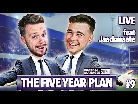 Jaack Mate TROLLS My Stream For TWO HOURS | Episode 9 | Football Manager 2020 #The5YearPlan