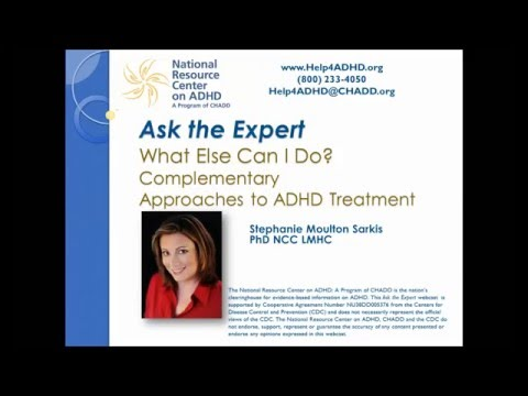 Complementary approaches to ADHD treatment