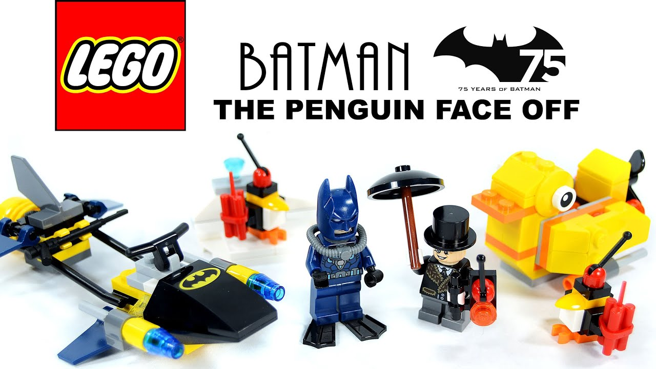 LEGO Batman The Penguin Face Off DC Comics Super Heroes ...